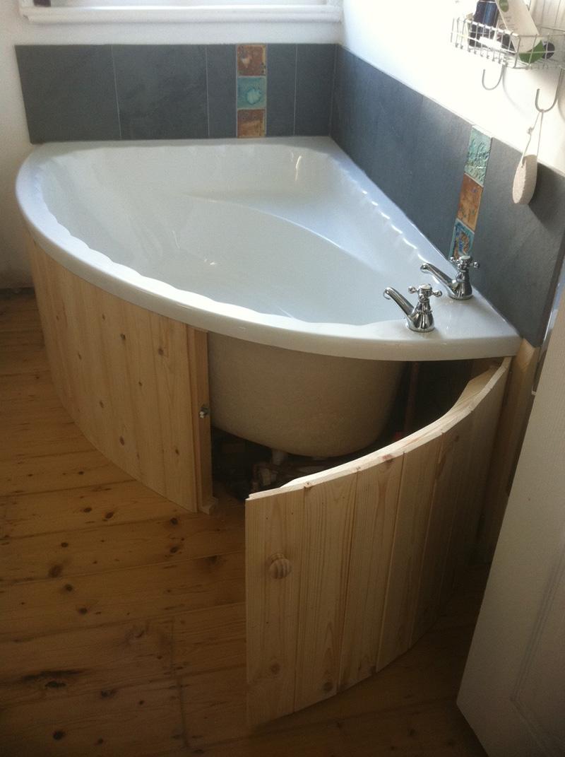 Diy Curved Bath Panel - DIY Ideas
